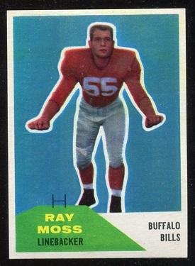 1960 Fleer #44 - Ray Moss - nm