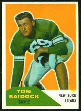 1960 Fleer #64 - Tom Saidock - nm