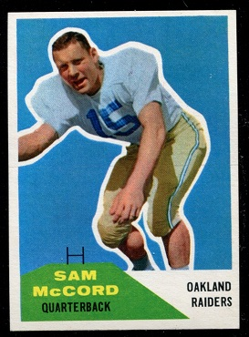 1960 Fleer #67 - Sam McCord - nm+