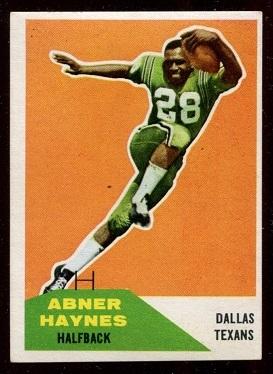 1960 Fleer #73 - Abner Haynes - exmt