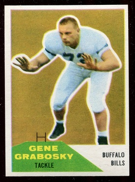 1960 Fleer #79 - Gene Grabosky - nm