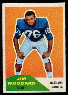 1960 Fleer #84 - Jim Woodard - vg-ex