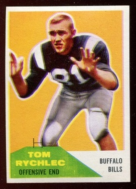 1960 Fleer #85 - Tom Rychlec - nm