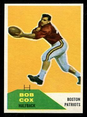 1960 Fleer #86 - Bob Cox - nm