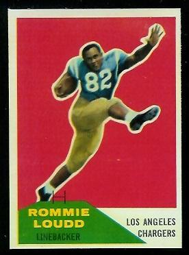 1960 Fleer #90 - Rommie Loudd - nm