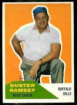 1960 Fleer #92 - Buster Ramsey - nm