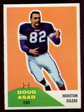 1960 Fleer #93 - Doug Asad - nm