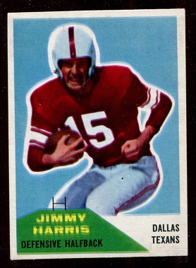 1960 Fleer #94 - Jimmy Harris - exmt
