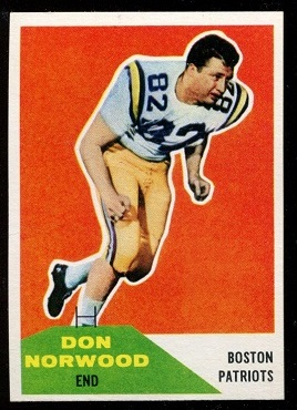 1960 Fleer #97 - Don Norwood - nm