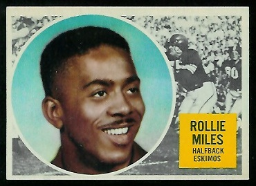 1960 Topps CFL #16 - Rollie Miles - nm