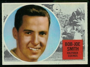 1960 Topps CFL #18 - Joe Bob Smith - nm