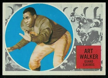 1960 Topps CFL #20 - Art Walker - nm