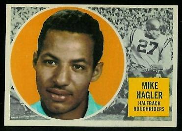1960 Topps CFL #55 - Mike Hagler - nm