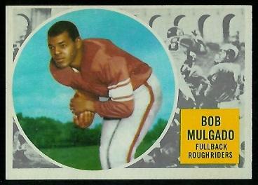 1960 Topps CFL #59 - Bob Mulgado - nm+ oc