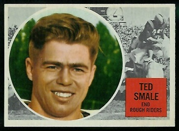1960 Topps CFL #66 - Ted Smale - nm