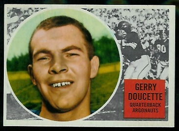 1960 Topps CFL #71 - Jerry Doucette - nm