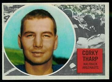 1960 Topps CFL #78 - Corky Tharp - nm