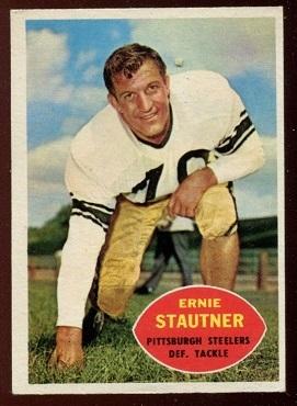 1960 Topps #101 - Ernie Stautner - nm