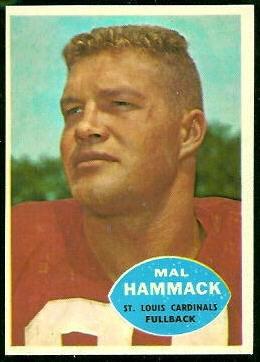 1960 Topps #104 - Mal Hammack - nm oc