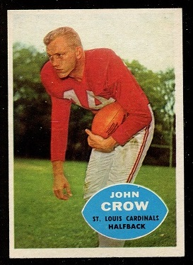 1960 Topps #105 - John David Crow - nm