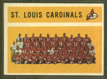 1960 Topps #112 - St. Louis Cardinals Team - nm