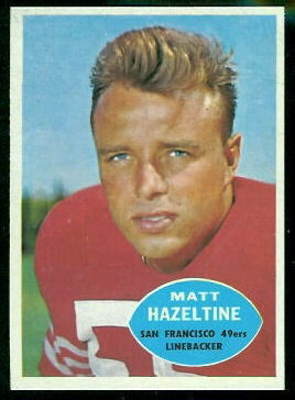 1960 Topps #119 - Matt Hazeltine - nm