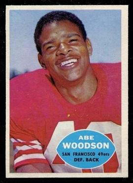 1960 Topps #120 - Abe Woodson - nm