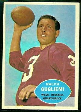 1960 Topps #123 - Ralph Guglielmi - nm
