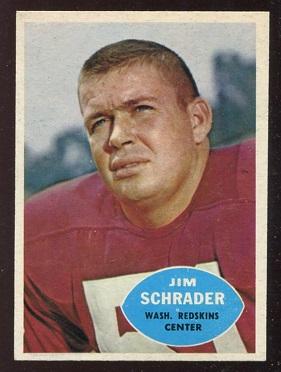 1960 Topps #128 - Jim Schrader - nm