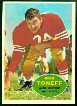 1960 Topps #131 - Bob Toneff - nm