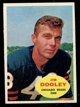 1960 Topps #15 - Jim Dooley - nm