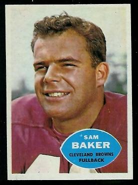 1960 Topps #24 - Sam Baker - nm