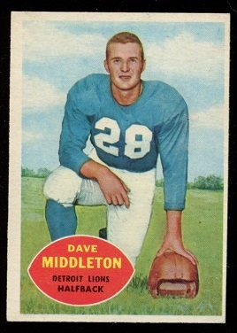 1960 Topps #43 - Dave Middleton - nm