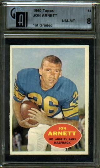 1960 Topps #64 - Jon Arnett - GAI 8