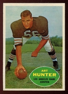 1960 Topps #67 - Art Hunter - nm