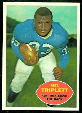 1960 Topps #73 - Mel Triplett - nm