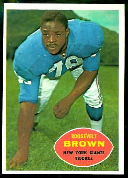 1960 Topps #78 - Roosevelt Brown - nm