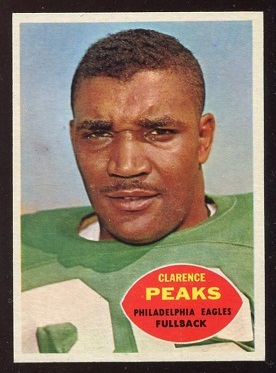 1960 Topps #83 - Clarence Peaks - nm
