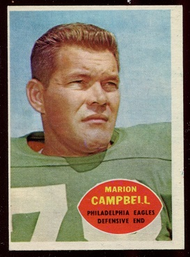 1960 Topps #90 - Marion Campbell - ex