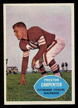 1960 Topps #96 - Preston Carpenter - nm