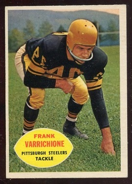 1960 Topps #97 - Frank Varrichione - nm+