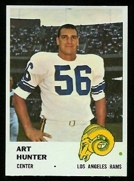 1961 Fleer #104 - Art Hunter - nm