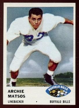 1961 Fleer #142 - Archie Matsos - nm