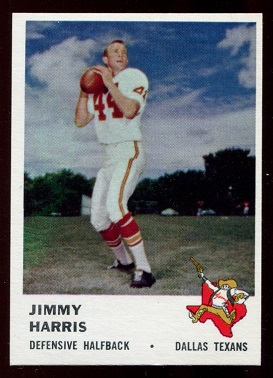 1961 Fleer #207 - Jimmy Harris - nm
