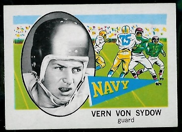 1961 Nu-Card #105 - Vern Von Sydow - nm