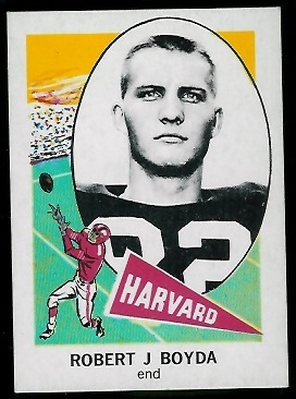 1961 Nu-Card #110 - Bob Boyda - nm