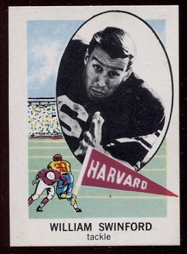 1961 Nu-Card #119 - Bill Swinford - nm