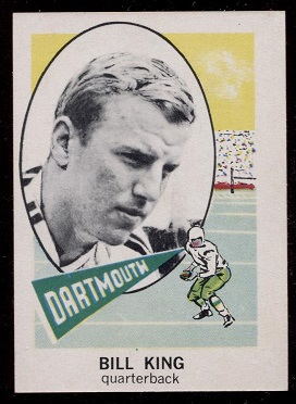 1961 Nu-Card #120 - Bill King - nm-mt