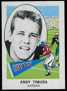 1961 Nu-Card #127 - Andy Timura - nm