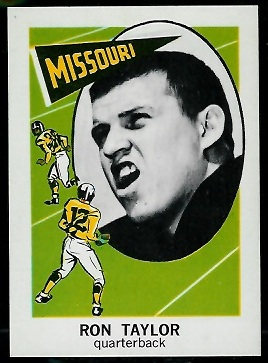 1961 Nu-Card #129 - Ron Taylor - nm-mt